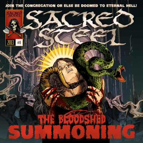 Sacred Steel - The Bloodshed Summoning [2013]