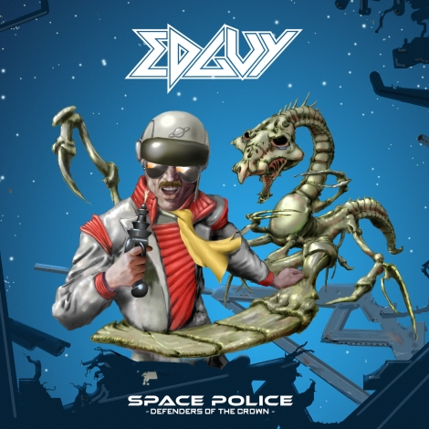Edguy - Space Police - Defenders Of The Crown [2014]