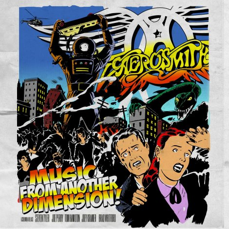 Aerosmith - Music From Another Dimension [2012]